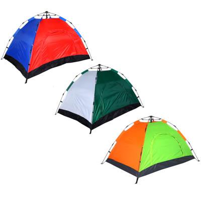 Палатка 4-местная ЧИНГИСХАН Автомат, 200х195х140см, нейлон 170T, дно оксфорд 150D - 1