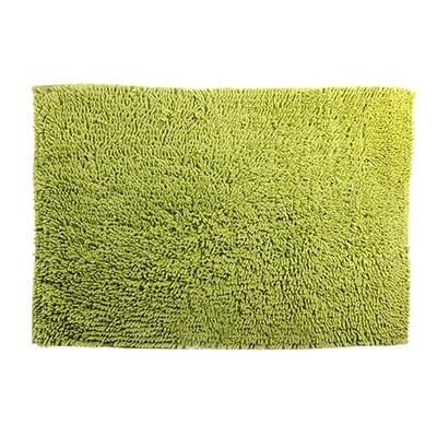 Коврик для ванной Петля 50х70см, хлопок, б/п, зеленый - 1