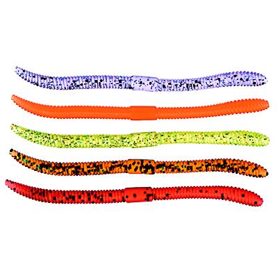 """Приманка мягкая """"Червяк"""" AZOR FISHING 4.0, силикон Премиум, 100 мм, 5 шт., микс цветов - 1"""