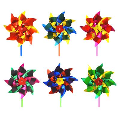ИГРОЛЕНД Ветрячок детский, 14-16см, пластик, 27х17,5см, 2-4 цвета - 1