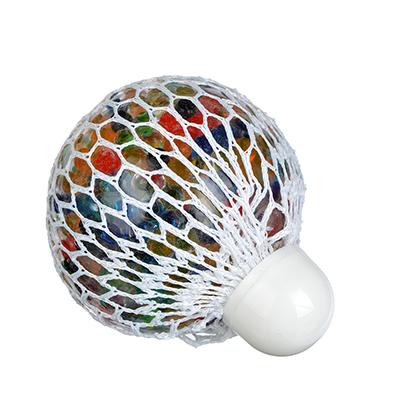 Мялка с шариками, резина, 7х7х7см, 6 цветов - 1