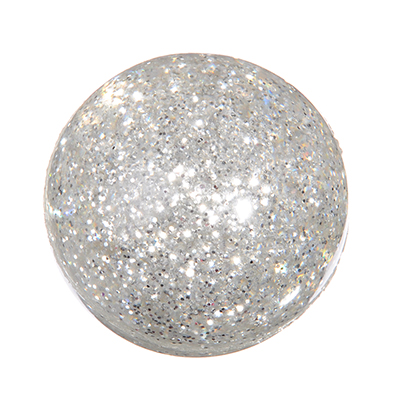 Мячик каучуковый Попрыгун с блестками, каучук, d-45мм - 1