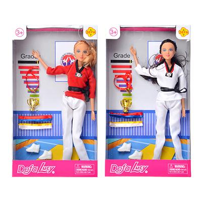 Кукла шарнирная 29см, пластик, полиэстер, 2 дизайна - 1
