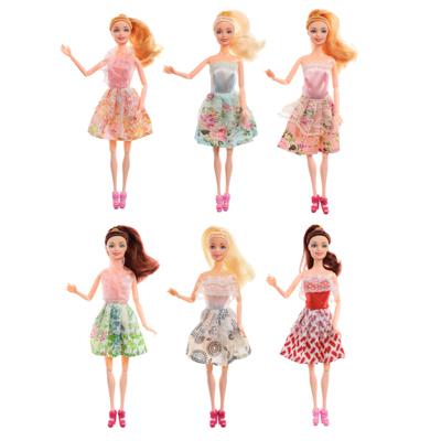 ИГРОЛЕНД Кукла в стильной одежде, шарнирная, 29см, PP,PVC, полиэстер, 6дизайнов - 1