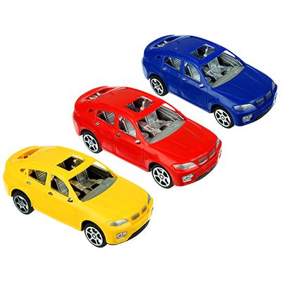 Машина Классическая, инерционная, пластик, 17х5х7см, 3 цвета - 1