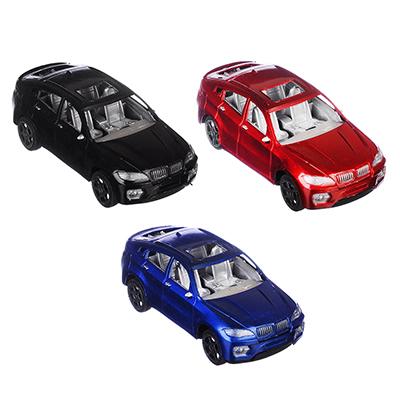 Машина Классическая, цв. металлик, инерционная, пластик, 17х5х7см, 3 цвета - 1
