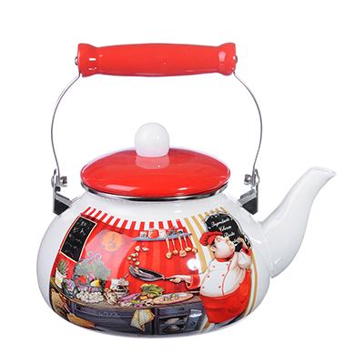 Чайник 2,5 л VETTA Повар, эмалированный, индукция - 1