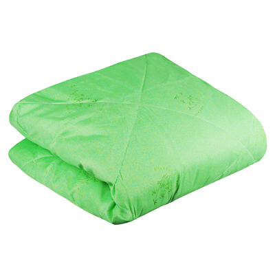 Одеяло 172х205 см Бамбук стеганое, облегченное 150 гр/м, полиэстер