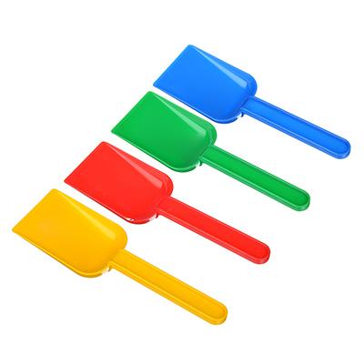 Совочек для песочницы, пластик, 16,5см, 4 цвета - 1