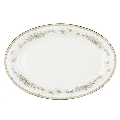MILLIMI Версаль Блюдо овальное, 30,5х21см, костяной фарфор - 1