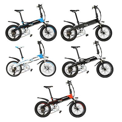 LANKE LEISI Велогибрид G660, 20 дюймов, 157х110 см, акк. 48V10A - 1