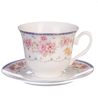 MILLIMI Флер Набор чайный 12 пр., 250мл, костяной фарфор - 1