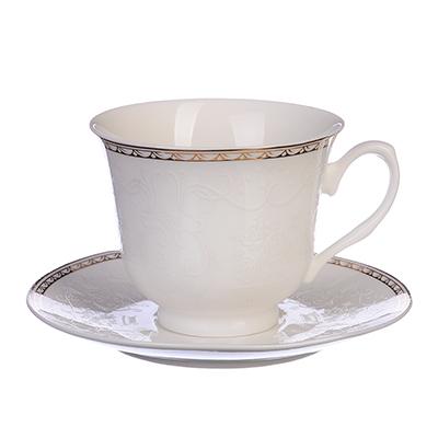 MILLIMI Анжелика Набор чайный 12 пр., 250мл, костяной фарфор - 1