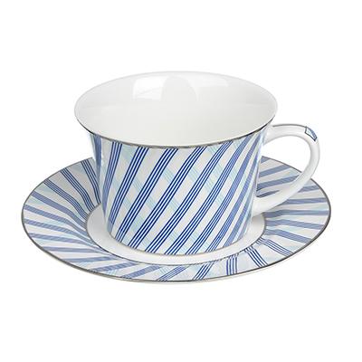 MILLIMI Лазурит Набор чайный 2 пр., 270мл, костяной фарфор - 1
