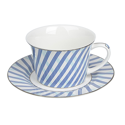 MILLIMI Лазурит Набор чайный 4 пр., 270мл, костяной фарфор - 1