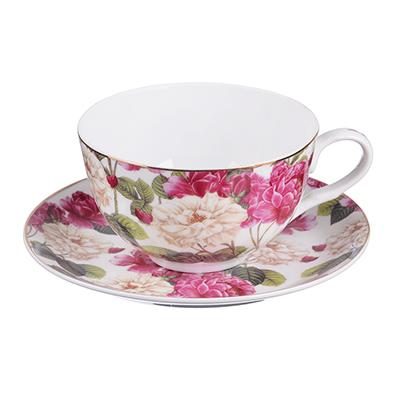 MILLIMI Роскошный сад Набор чайный 2 пр., 330мл, тонкий фарфор - 1