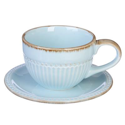 """Чайный сервиз 2 предмета, керамика, MILLIMI """"Аромат"""" - 1"""