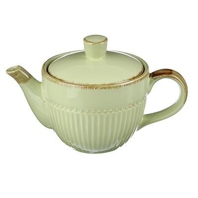 """Чайник заварочный 850 мл, керамика, MILLIMI """"Олива"""" - 1"""