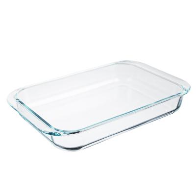 Форма для запекания жаропрочная 3,5 л SATOSHI, 39х24х6 см, стекло - 1
