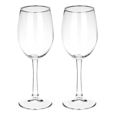 """Набор бокалов для вина 2 шт 360 мл (на длинной ножке), PASABAHCE """"Classique"""" арт.440151B - 1"""