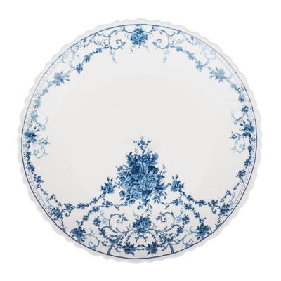 "Тарелка десертная d. 21,5 см, опаловое стекло, MILLIMI ""Ариадна"" - 1"