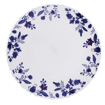 """Тарелка десертная d. 21,5 см, опаловое стекло, MILLIMI """"Таис"""" - 1"""