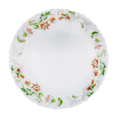 "Тарелка подстановочная d.24 см, опаловое стекло, MILLIMI ""Серсея"" - 1"