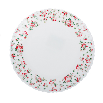 """Тарелка десертная d. 21,5 см, опаловое стекло, MILLIMI """"Майя"""" - 1"""