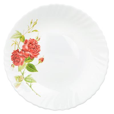 "Тарелка десертная d. 19 см, опаловое стекло, MILLIMI ""Инесса"" - 1"