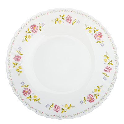 "Тарелка десертная d.19 см, опаловое стекло, MILLIMI ""Диана"" - 1"