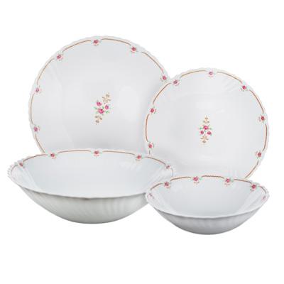 """Набор столовой посуды 19 предметов, опаловое стекло, MILLIMI """"Наяда"""" - 1"""