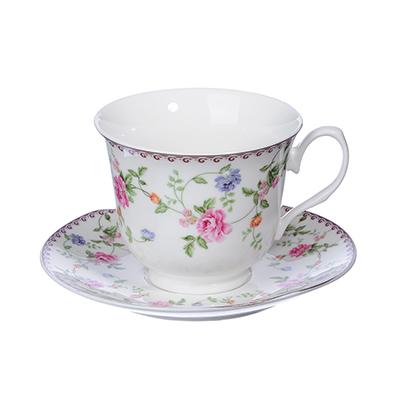 MILLIMI Утро Набор чайный 4 пр., 240мл, костяной фарфор - 1