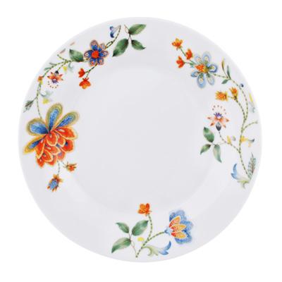 """Тарелка десертная, фарфор, 19 см, """"Волшебный цветок"""" - 1"""