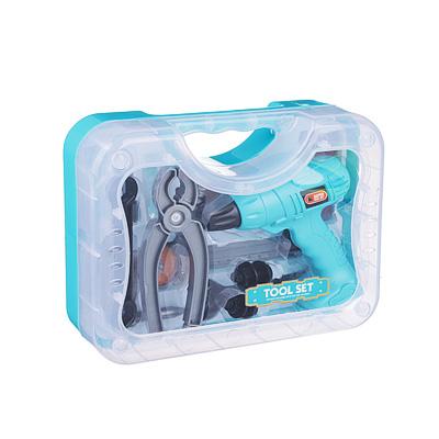 Набор инструментов в кейсе,12 предметов, пластик, 19х26,5х7,5 см - 1