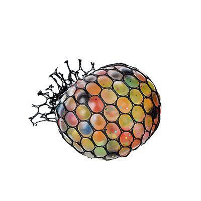 Мялка разноцветная, полимер, 6х6х6см - 1