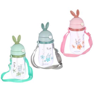Бутылочка детская, 420 мл, пластик, 3 дизайна - 1