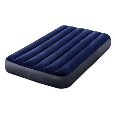 """Кровать надувная, FIBER-TECH, 99х191х25 см, INTEX """"Classic downy Твин"""", 64757 - 1"""