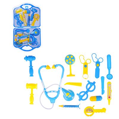 ИГРОЛЕНД Набор доктора в чемоданчике, 15 пр., PP ,PVC, 23х40х3,5 см, 2 цвета - 1