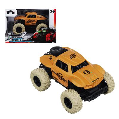ИГРОЛЕНД Машинка инерционная, 1:36, пластик, металл, 11х8х5,5см, 4 дизайна - 1