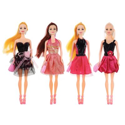 ИГРОЛЕНД Кукла модельная с аксессуарами, PS, PVC, коробка 32,5х12,8х5см, 3 дизайна - 1
