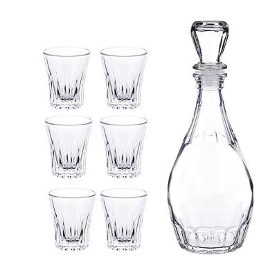 "Набор для вина 7 предметов, стекло, ""Дионис"" - 1"