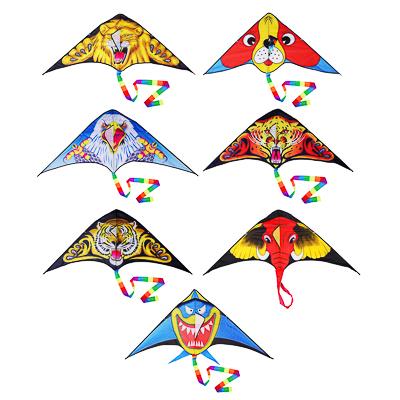 Воздушный змей 160см, текстиль, 7-10 дизайнов - 1
