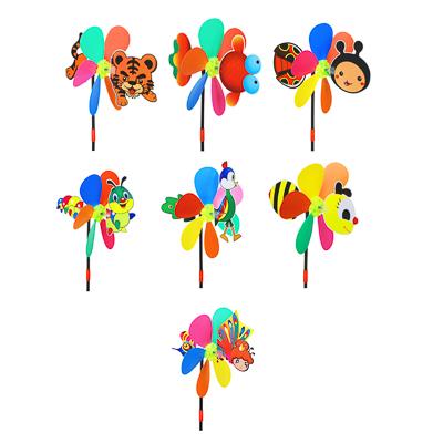 """ИГРОЛЕНД Ветрячок детский """"Животные"""", 49х24см, PVC, 2 дизайна - 1"""