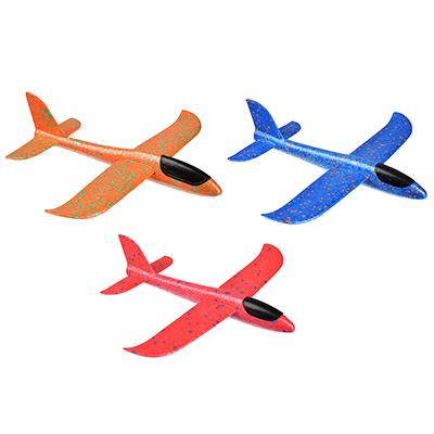 Самолет-планер, полимер, 37х9х35см, 3 цвета - 1