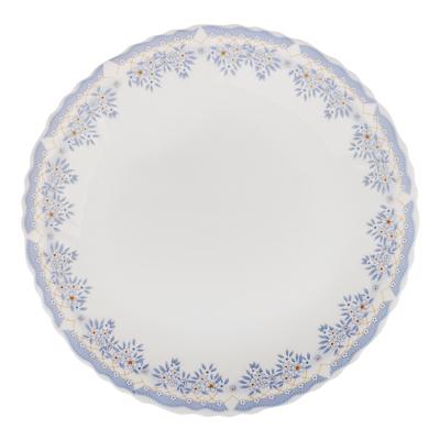 """Тарелка десертная d. 19 см, опаловое стекло, MILLIMI """"Аполлон 2"""" - 1"""