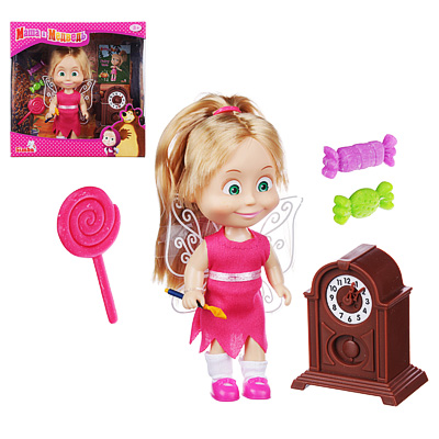 МАША И МЕДВЕДЬ Кукла Маша, 12см, пластик, полиэстер - 1