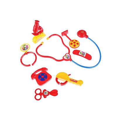 ФИКСИКИ Набор доктора в чемодане, 8 предм, пластик, 27х21х5см - 1