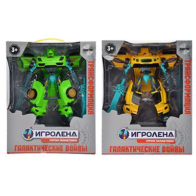 ИГРОЛЕНД Робот-машина, ABS, 31,5х25x9,8cм, 2 дизайна - 1