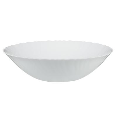 """Салатник d. 24 см, опаловое стекло, MILLIMI """"Бьянко"""" - 1"""