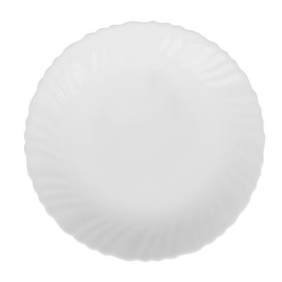 "Тарелка десертная d. 19 см, опаловое стекло, MILLIMI ""Бьянко"" - 1"